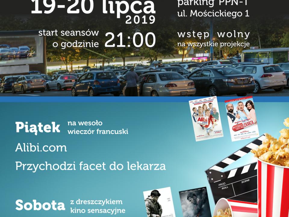 puławskie kino samochodowe 2019